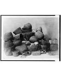 Puget Sound Baskets by Curtis, Edward S.