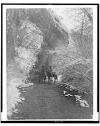 Approaching Winter--apsaroke by Curtis, Edward S.