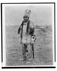 A Klamath in Costume by Curtis, Edward S.