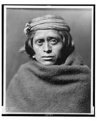A Zuni Man by Curtis, Edward S.