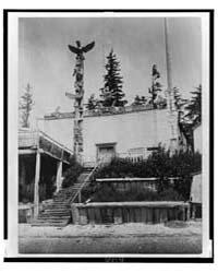 Tanaktak House, Harbeldown Island by Curtis, Edward S.