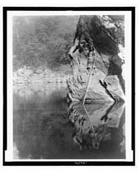 Quiet Waters--yurok by Curtis, Edward S.