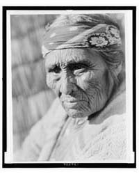 Old Klamath Woman by Curtis, Edward S.