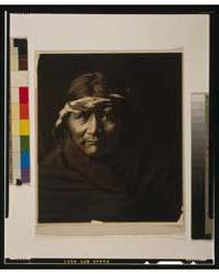 Navaho Man by Curtis, Edward S.