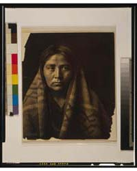 Navaho Matron by Curtis, Edward S.