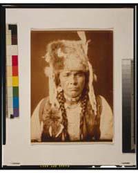 Nez Percé with Furcap by Curtis, Edward S.