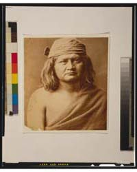 Native Man, Head-and-shoulders Portrait,... by Curtis, Edward S.