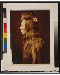 Black Eagle--profile by Curtis, Edward S.