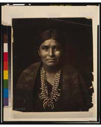 A Navaho Woman by Curtis, Edward S.