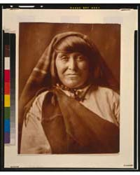 An Acoma Woman, Head-and-shoulders Portr... by Curtis, Edward S.