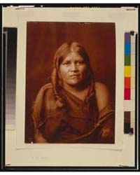 A Hopi Woman by Curtis, Edward S.