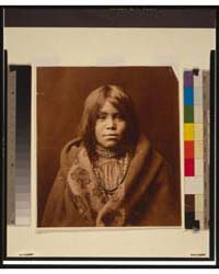 An Apache Girl, Head-and-shoulders Portr... by Curtis, Edward S.