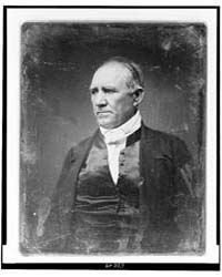 Sam Houston, Half-length Portrait, Three... by Library of Congress
