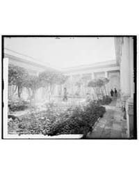 Patio, The, Photograph 4A03723V by Jackson, William Henry
