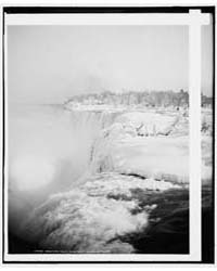 American Falls from Goat Island, Niagara... by Library of Congress
