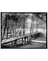 Rustic Bridge, Chautauqua, Photograph 4A... by Library of Congress