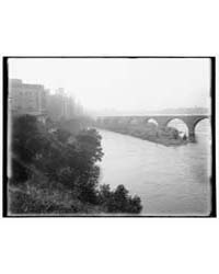Minneapolis, View from Across River, Pho... by Library of Congress