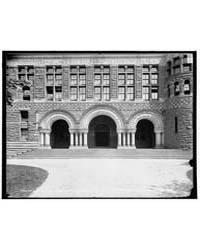 Entrances to the Law School, Harvard Col... by Library of Congress