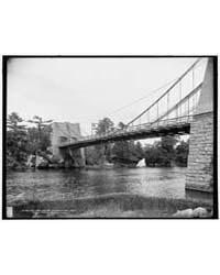 Old Chain Bridge, Newburyport, Mass., Fi... by Library of Congress