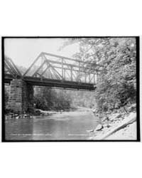 Bell's Bridge, Brodhead's Creek, Photogr... by Library of Congress