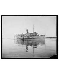 Steamer Toronto at Gananoque, Thousand I... by Library of Congress