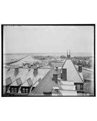 West from Hotel Chamberlin, Old Point Co... by Jackson, William, Henry
