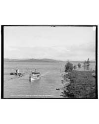 Str. Belle of Isles Leaving Lake at Endi... by Library of Congress