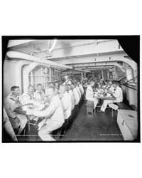 U.S.S. Massachusetts, Crew at Mess, Phot... by Hart, Edward, H.