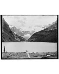 Lake Louise from Chalet, Lake Louise and... by Library of Congress