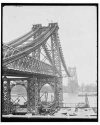 New East River Bridge Williamsburg Bridg... by Library of Congress
