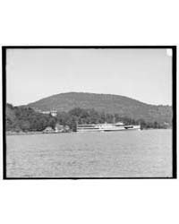 Lake George, N.Y., Steamer Leaving Roger... by Library of Congress
