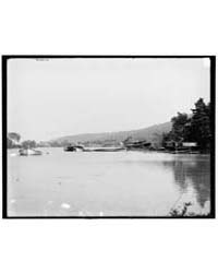 The Steamboat Graveyard, Lake George, N.... by Library of Congress