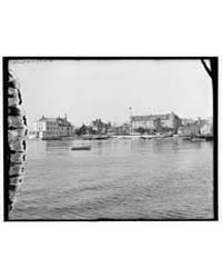 Iroquois-on-the-beach Hotel and Lake Vie... by Library of Congress