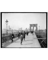 Brooklyn Bridge, New York, N.Y., Photogr... by Library of Congress