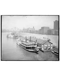 Levee from Smithfield Street Bridge, Pit... by Library of Congress