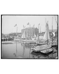 Oyster and Charcoal Luggers in the Old B... by Library of Congress