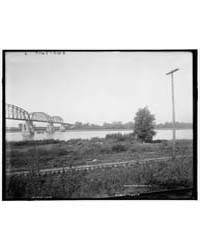 New Steel Bridge at Glasgow, Mo., Photog... by Library of Congress