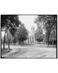 College Hall, Amherst, Mass., Photograph... by Library of Congress