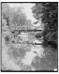 The Old Bridge, Amherst, Mass., Photogra... by Library of Congress