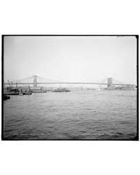 Brooklyn Bridge, New York, Photograph 4A... by Library of Congress
