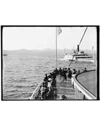 Lake George, N.Y., Passing Boats, Photog... by Library of Congress