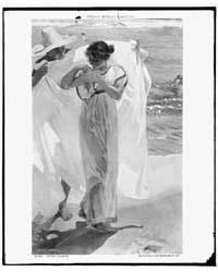 After the Bath, Photograph 4A26241V by Sorolla, Joaquin