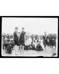 Crowded Beach, Atlantic City, N.J., Phot... by Library of Congress
