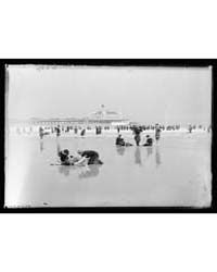 People on Beach, Probably Simulating Lif... by Library of Congress