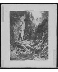 The Flume, Opalescent River, Adirondacks... by Wyant, A. H.