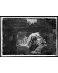 Whetstone Falls, Brattleboro, Vt., Photo... by Library of Congress