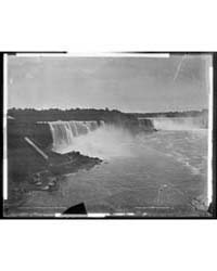 General View of Niagara Falls from Bridg... by Library of Congress