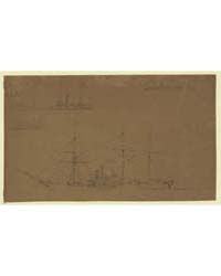Five Broadside Views of Steamships and a... by Waud, Alfred R.