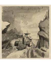 Norway, the Steamer Parting the Fjord, P... by Taylor, Bayard