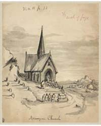 Norwegian Church, Photograph 22909V by Taylor, Bayard